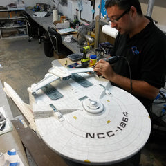 Photo of Creating the U.S.S. Reliant Artisan Replica