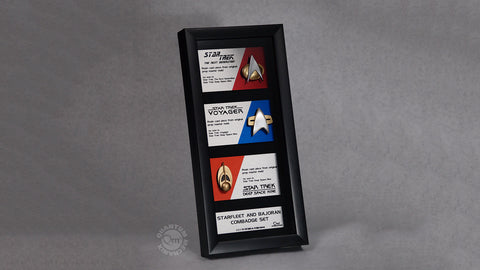 Photo of Star Trek Communications Artisan Badge Set