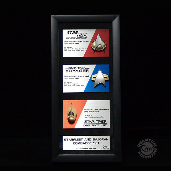 Star Trek Communications Artisan Badge Set