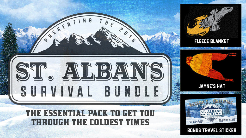 Firefly St. Albans Survival Bundle