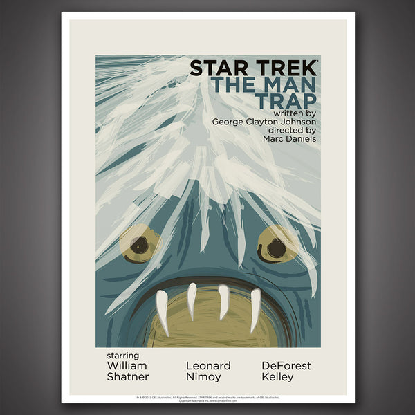 Star Trek: The Original Series Art Prints – Set 4