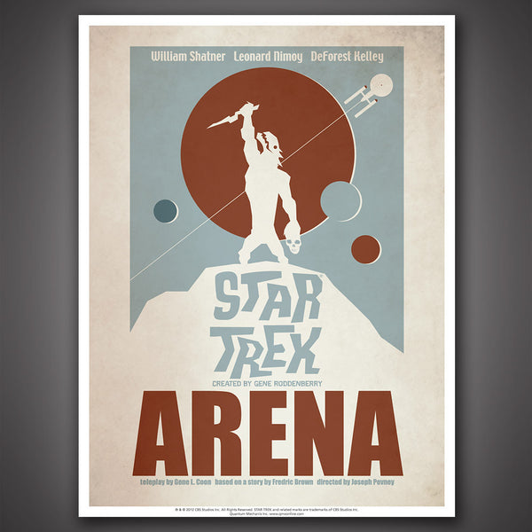 Star Trek: The Original Series Art Prints – Set 5