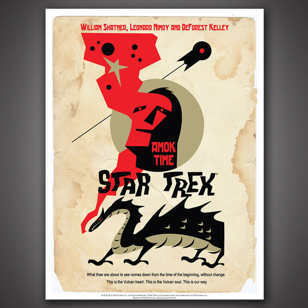 Star Trek: The Original Series Art Prints – Set 7