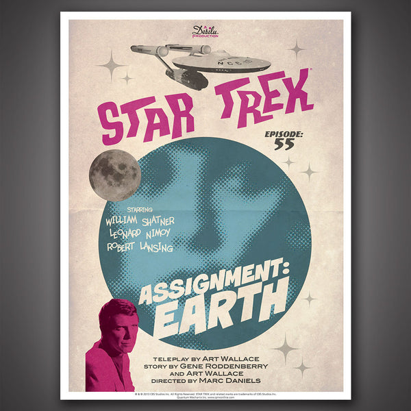 Star Trek: The Original Series Art Prints – Set 10