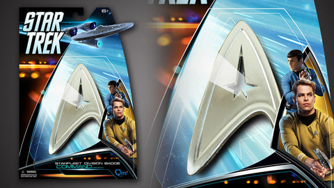 Photo of Star Trek Magnetic Insignia Badge — Command