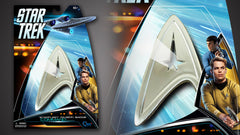 Thumbnail of Star Trek Magnetic Insignia Badge — Command