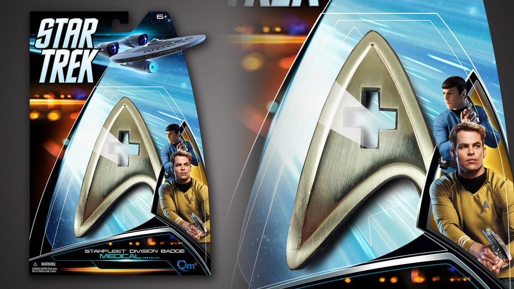 Star Trek Insignia Badge — Medical