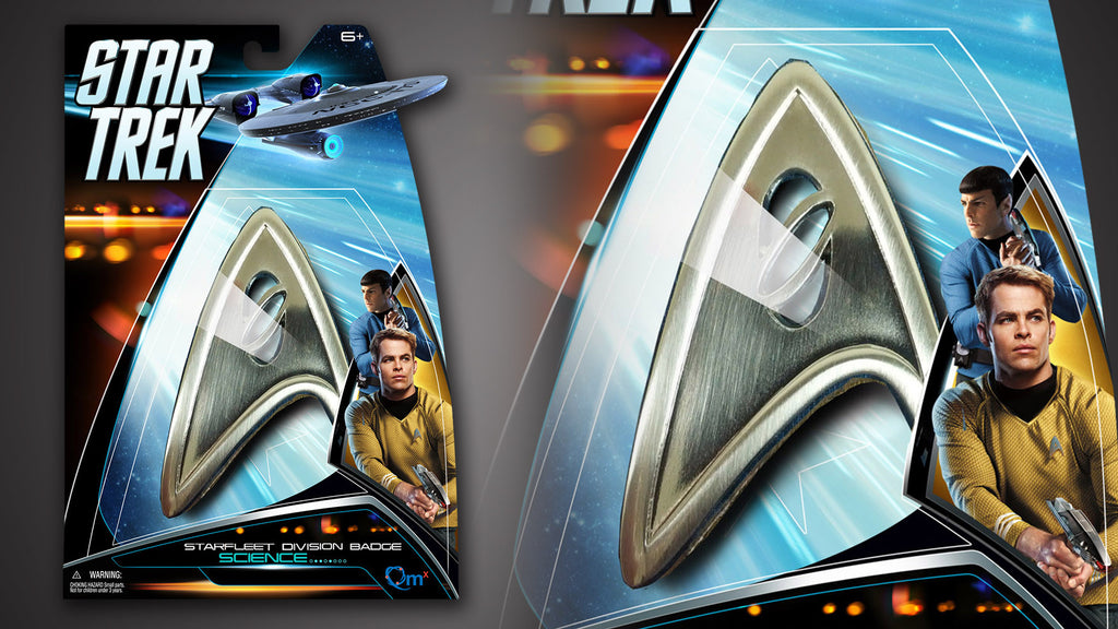 Star Trek Magnetic Insignia Badge — Science
