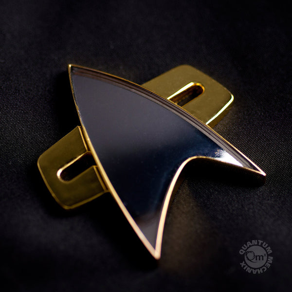 QMx Star Trek: Voyager Badge replica