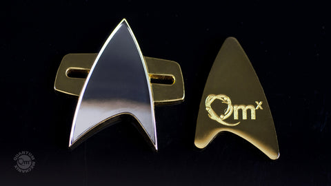 Photo of Star Trek: Voyager Communicator Badge