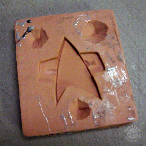 Star Trek: Voyager badge original mold
