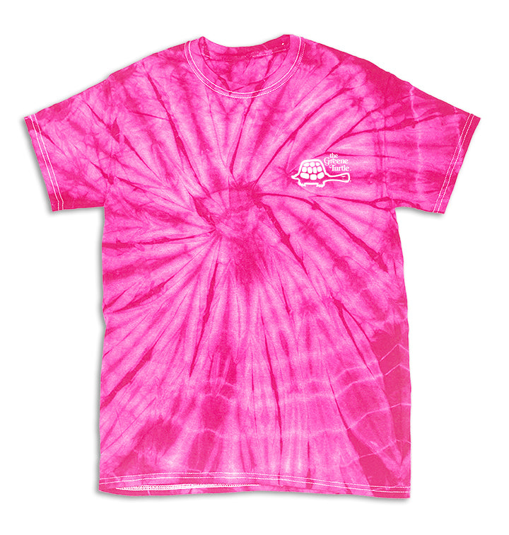 Classic Tie Dye Single Turtle Tee