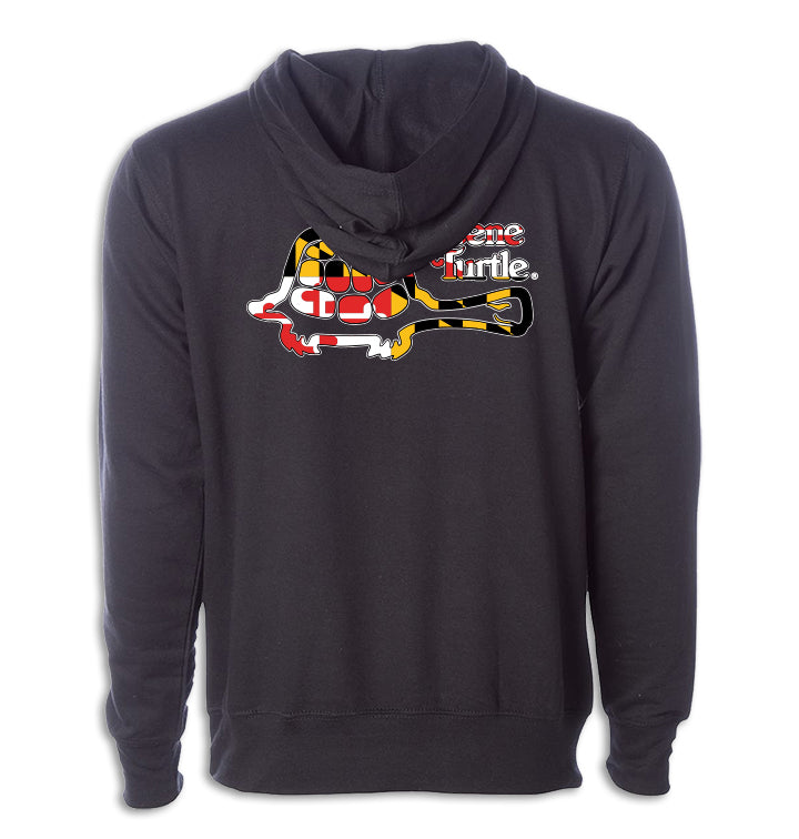 MD Flag Single Turtle Hoodie