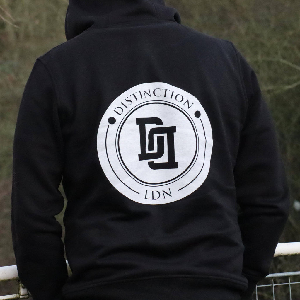 DISTINCTION LDN LINKED BACK HOODIE