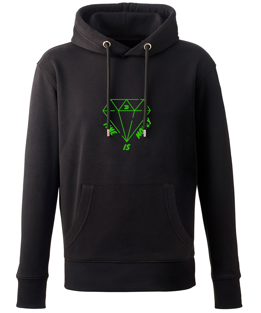 DISTINCTION LDN TIME IS MONEY GREEN EDITION HOODIE
