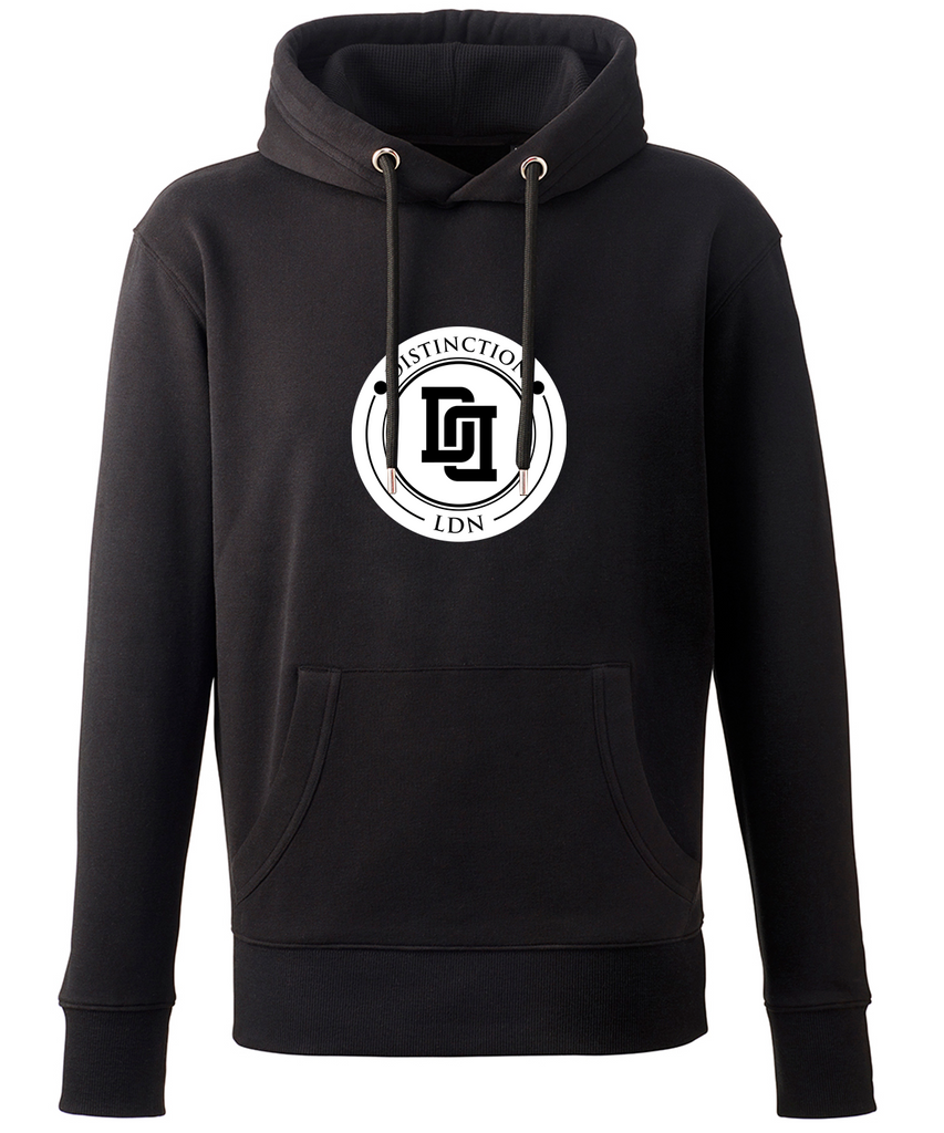 DISTINCTION LDN WHITE LINKED HOODIE