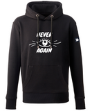 DISTINCTION LDN NEVER AGAIN BADGED HOODIE