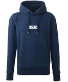 DISTINCTION LDN BOX HOODIE BLACK