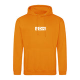 DISTINCTION LDN BOX LOGO HOODIE ORANGE