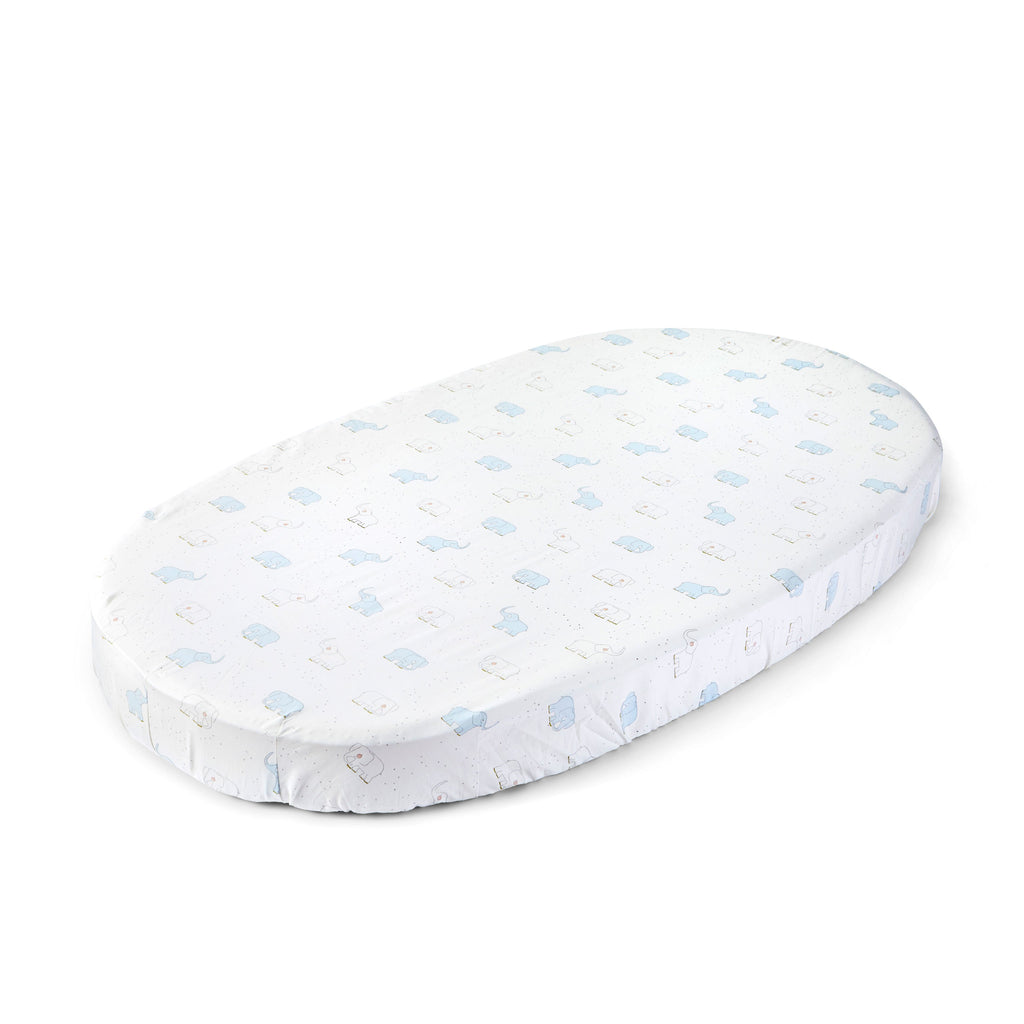 Elephant Fitted Sheet <br><sup>Pehr exclusively for Stokke®</sup>