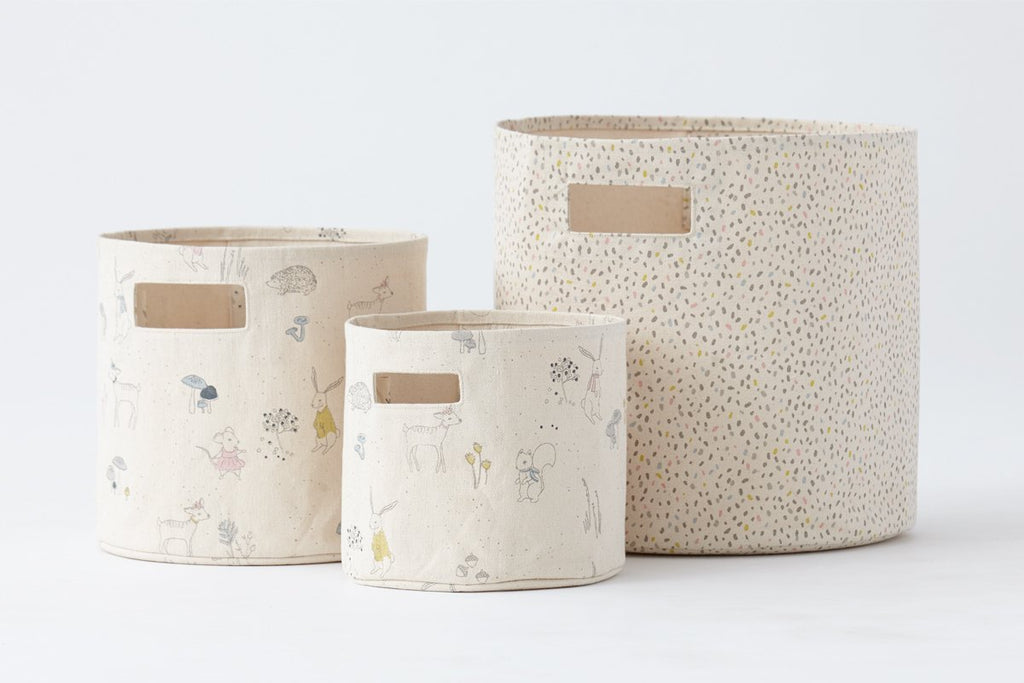 Petit Pehr Magical Forest Canvas Storage