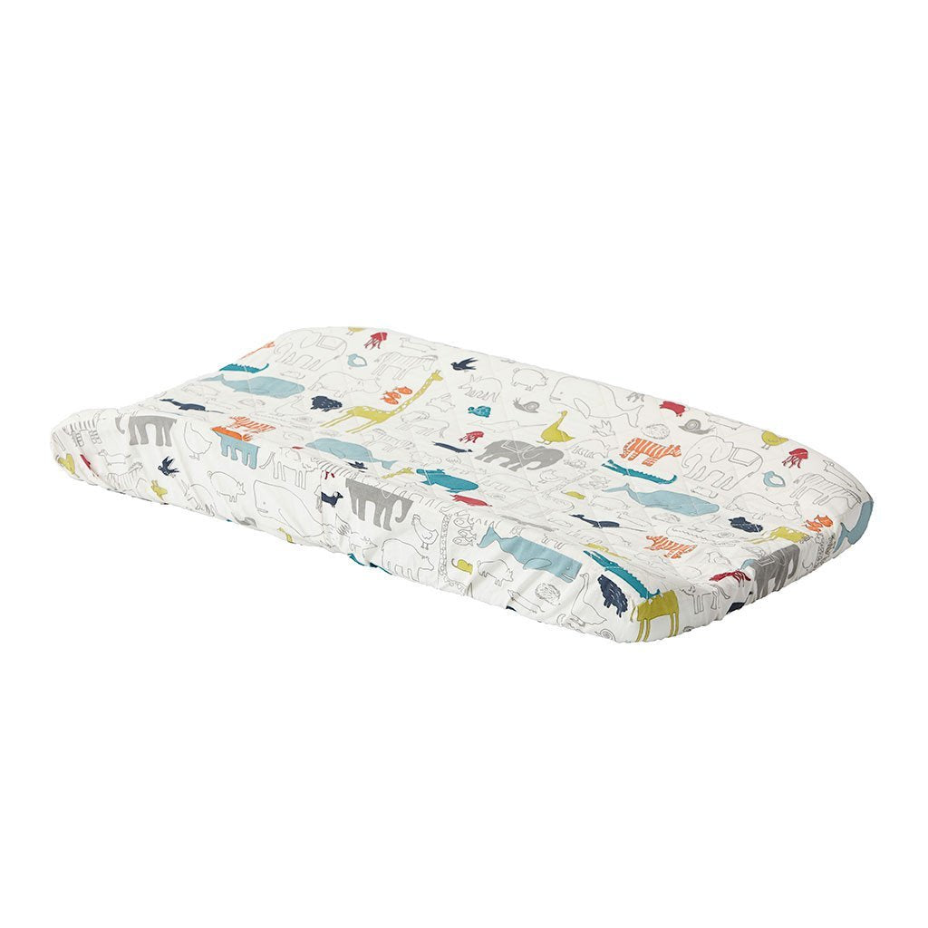 Noah's Ark Change Pad Cover