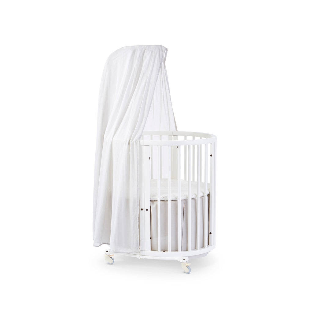 Grey Bed Skirt <br><sup>Pehr exclusively for Stokke®</sup>
