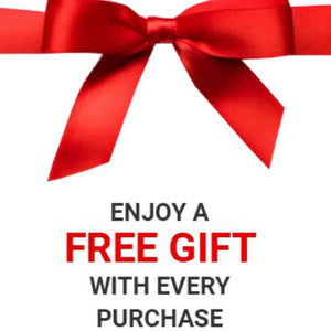 ENJOY 1 FREE GIFT PER PURCHASE