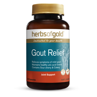 Herbs of Gold Gout-Relief 60 Capsules