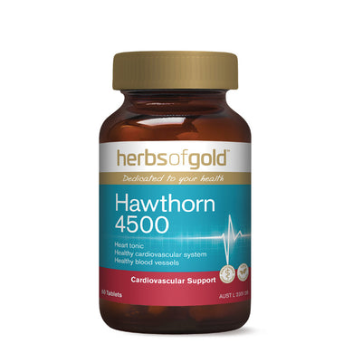 Herbs of Gold Hawthorn 4500mg 60 Tablets