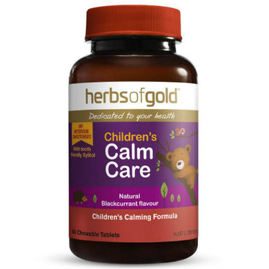 Herbs of Gold Children's Calm Care 60 Tablets