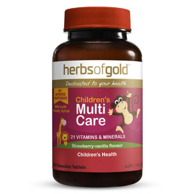Herbs of Gold Children's Multi Care 60 Tablets