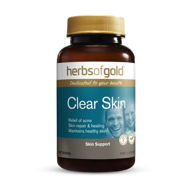 Herbs of Gold Clear Skin 60 Tablets