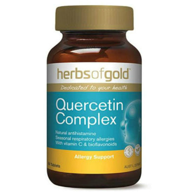 Herbs of Gold Quercetin Complex 60 Tablets