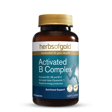Herbs of Gold Activated B Complex 30 Capsules