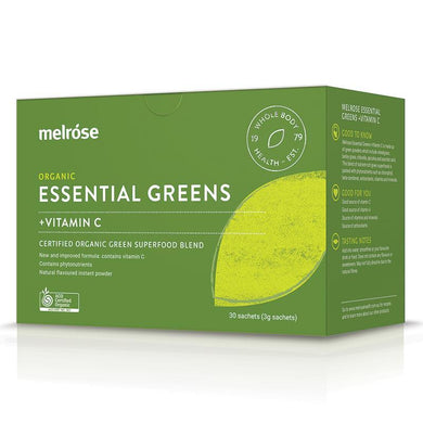 Melrose Essential Greens + Vitamin C 30 x 3G