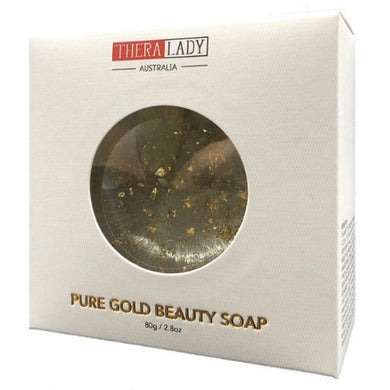 Thera Lady Pure Gold Beauty Soap 80G