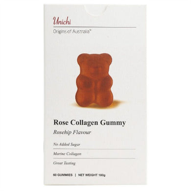Unichi Rose Collagen Gummy 60S