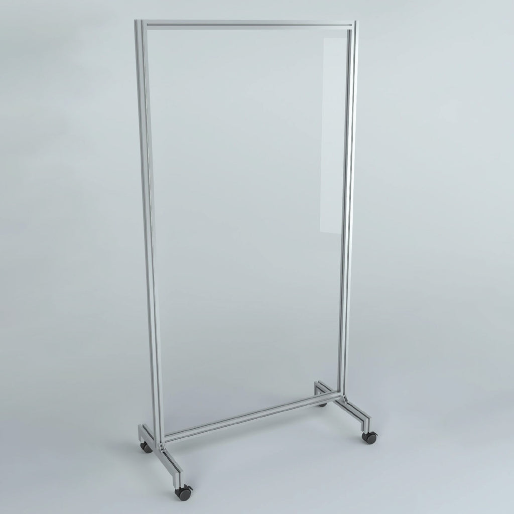Free-Standing Hygiene Screen - with Wheels