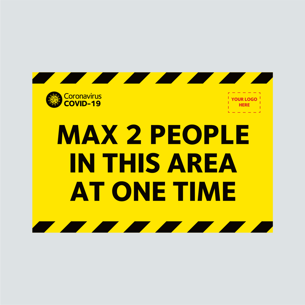 Indoor Floor Vinyl - Max 2 People