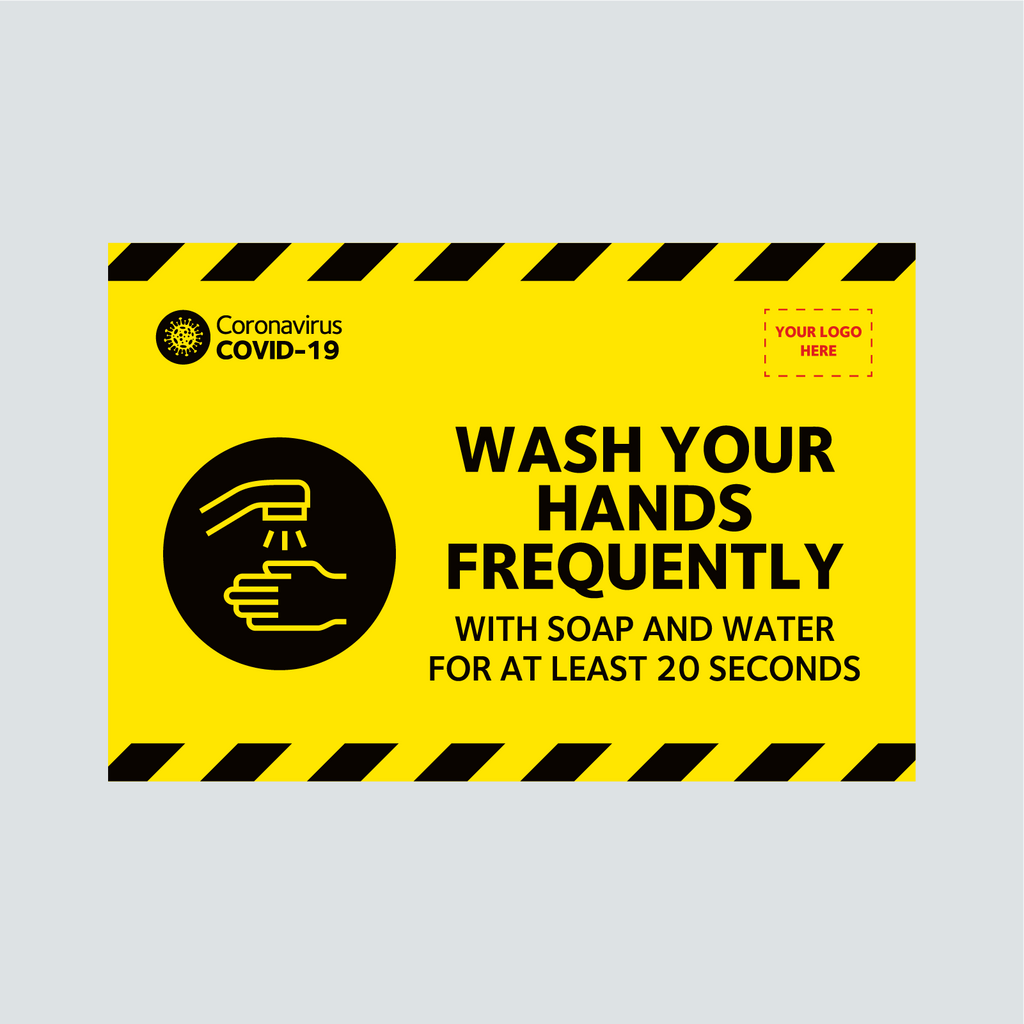 Site Signage - Wash Your Hands