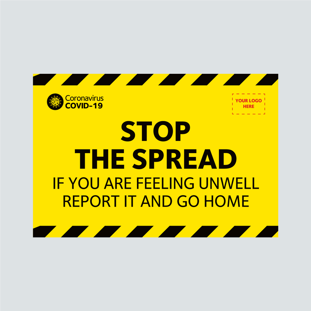 General Signage - Stop the Spread