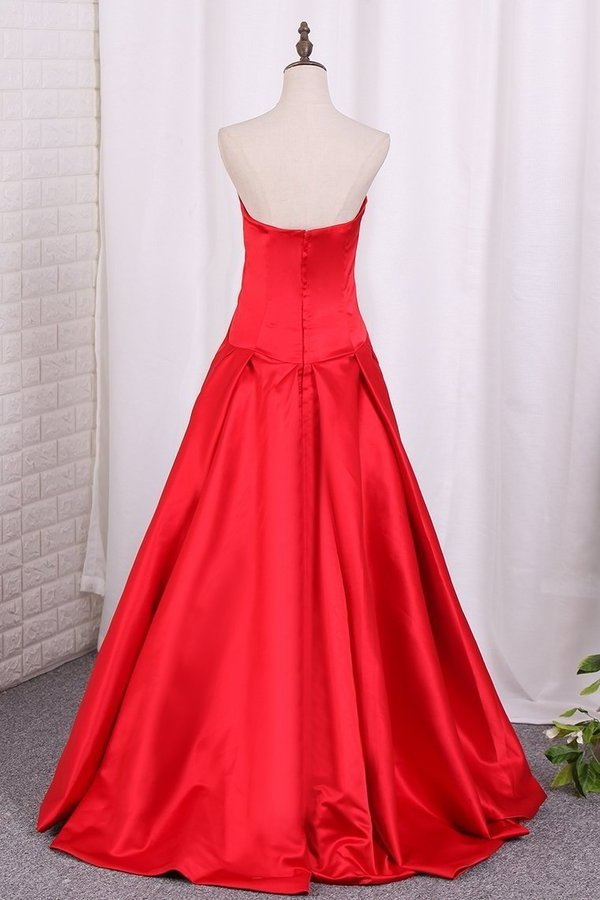 Asymmetrical Prom Dresses V Neck PD8RAHGY
