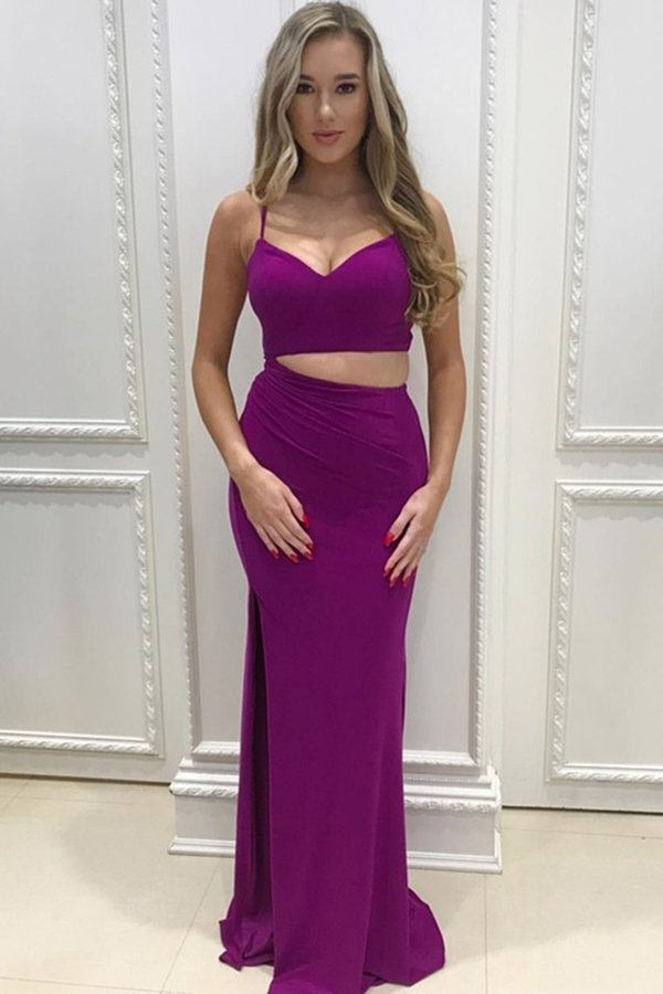 Simple Cheap Formal Spaghetti Straps Prom Dresses P9TBX12P