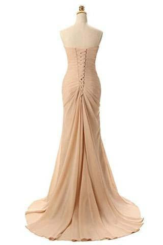 Sweetheart Mermaid Long Evening Dress Formal Prom Gowns Prom Dresses