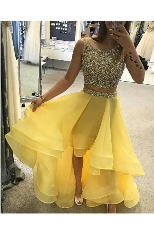 Organza Off The Shoulder A Line Homecoming Dresses