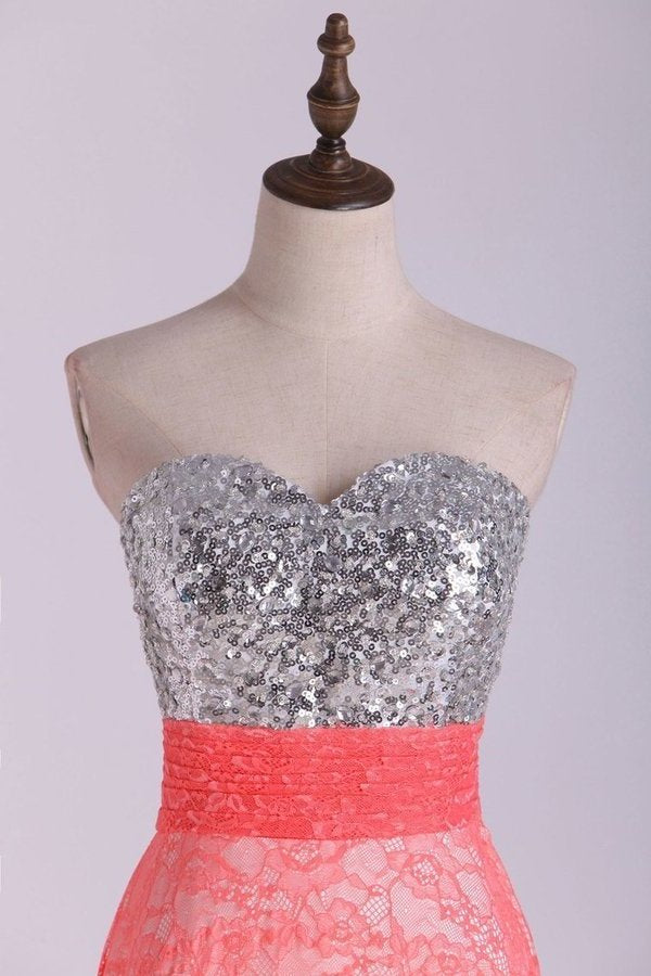 Sweetheart Prom Dress Beaded Bodice Twist Back Straps With PJL1AX16