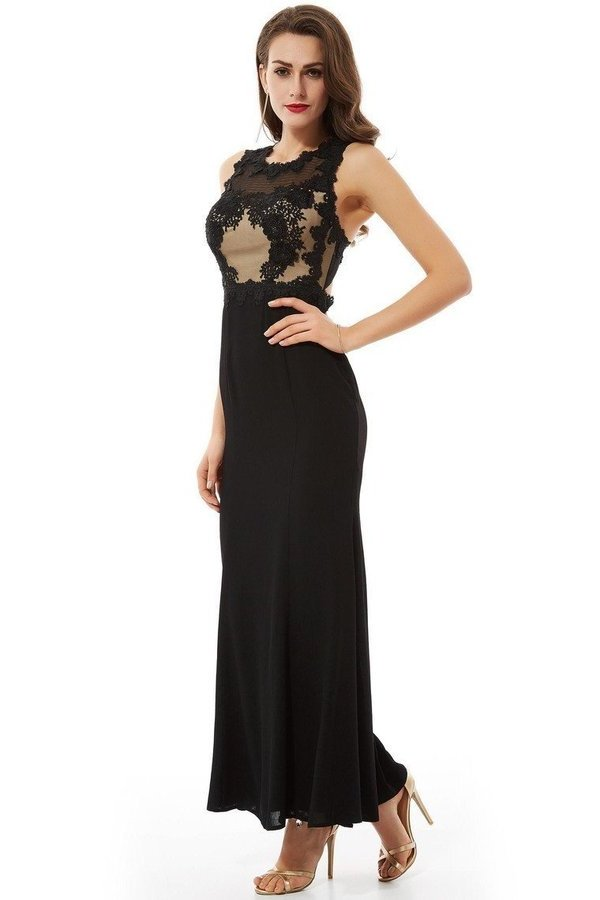 Scoop Open Back Prom Dresses PZKYSG87
