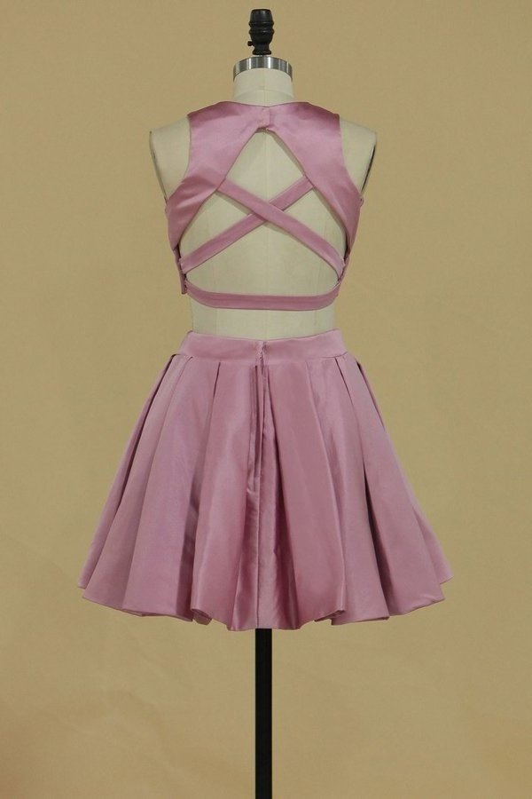 Two-Piece Homecoming Dresses Cross P4E6C6FB