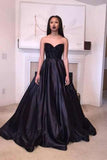 Top Rating Classical Sweetheart Floor Length Evening Prom Dresses Party Dresses
